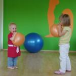 Skupinové cvičení dětí